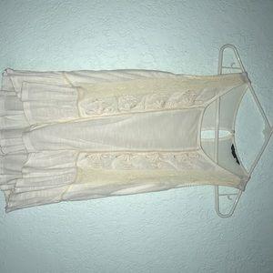 Women's cream color shirt